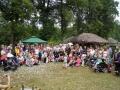 Uczestnicy Pikniku Rodzinnego - zdjęcie zbiorowe
